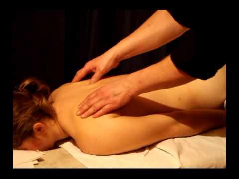 Классический массаж спины: приемы массажа