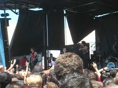 Of Mice & Men - Product Of A Murderer (Ventura Warped Tour 2012) Ft. Aaron Pauley of JE