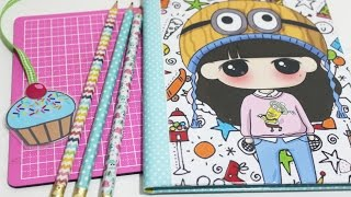 Caderno Personalizado – Volta as aulas – Back to School – Segredos de Aline