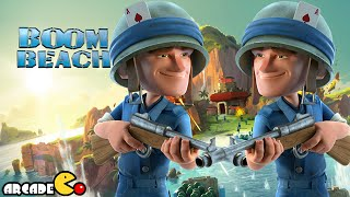 Boom Beach: Massive Attack From Behind Strategy Gameplay Walkthrough