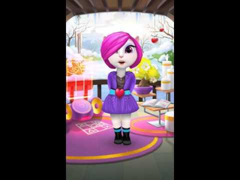 My Talking Angela - Look de Pop Star