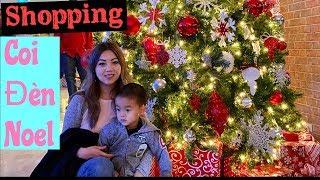 Vlog- Ngày Nghỉ Đi Shopping & Coi Đèn Noel