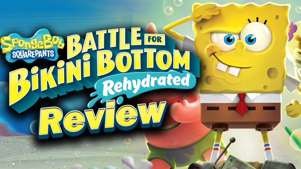 SpongeBob SquarePants: Battle for Bikini Bottom Rehydrated Review (PS4, Xbox, Switch, PC) (Video Game Video Review)
