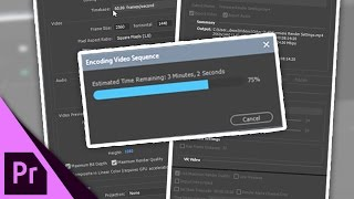My Adobe Premiere Render Settings [1440p] - Project, Sequence & Export Settings