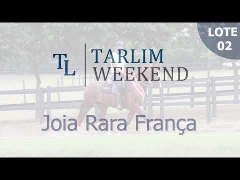 Lote 02 - Joia Rara França (6º Leilão Tarlim)