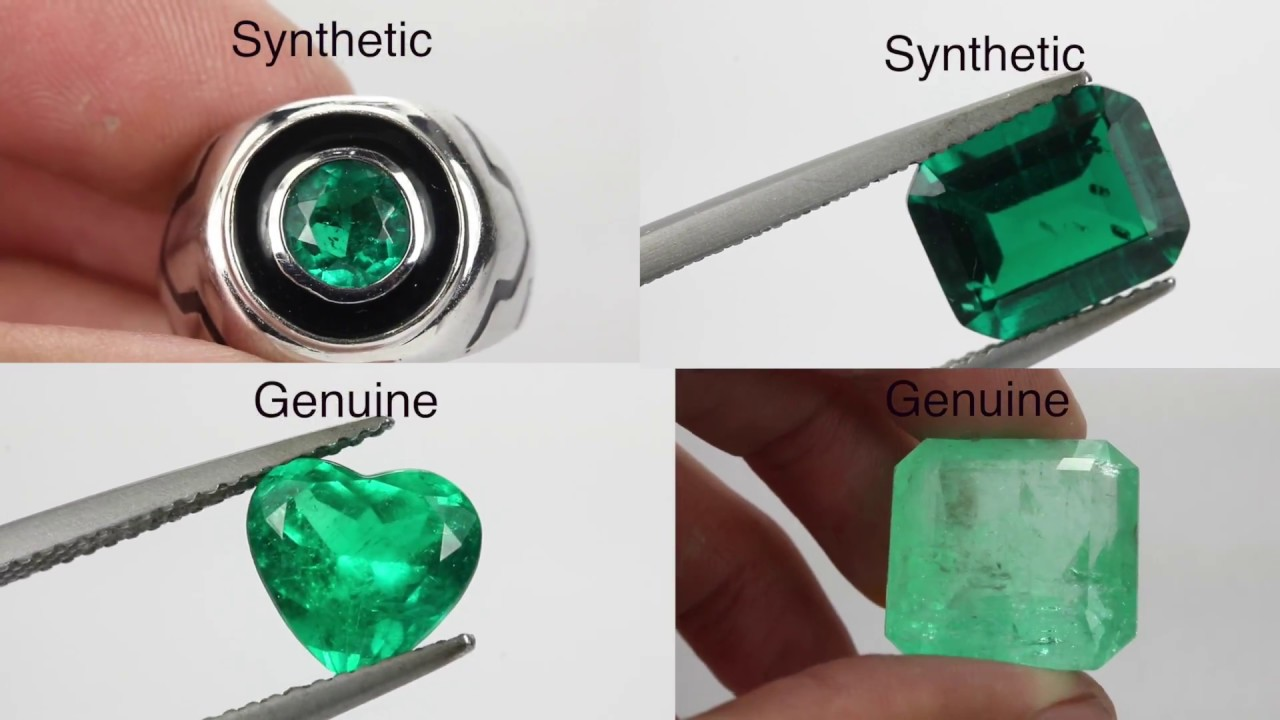 emerald rings differences between the real and synthetic. How To Buy And Know If You Have A Fake Or Real Emerald Rings Differences Between The Synthetic