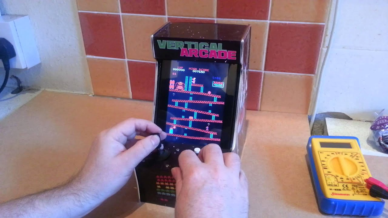 MAME Android Mini  Vertical Arcade  YouTube