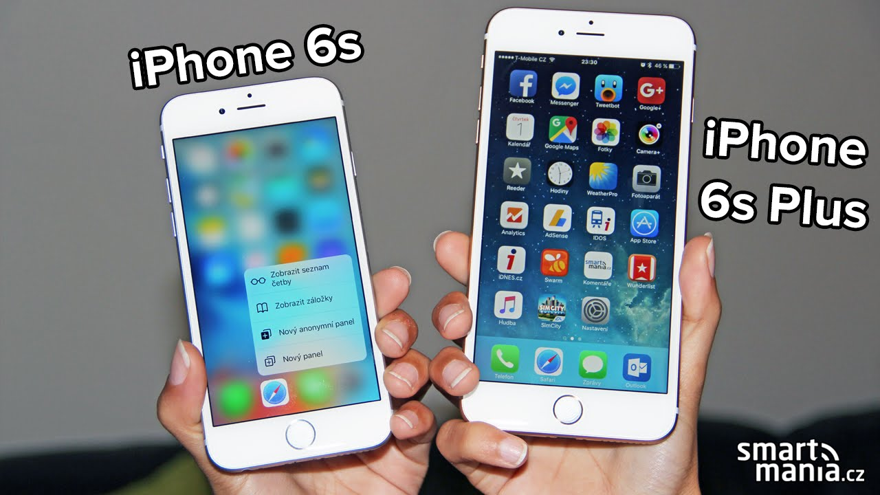 iPhone 6s & 6s Plus: Recenze - YouTube