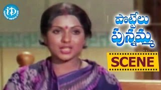 Pottelu Punnamma Movie Scenes - Sripriya Escapes From Goons || Mohan Babu || Murali Mohan
