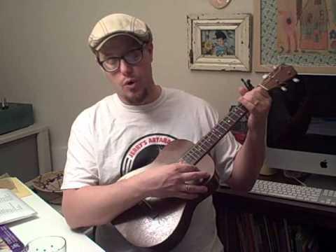 streets of laredo on baritone ukulele