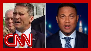 See Don Lemon's reaction when ex-Trump doctor gets upset with reporters