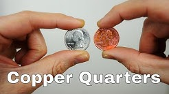 Making Copper Quarters With Methanol and Double Boiling
