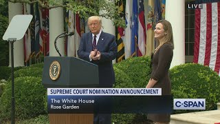 President Trump Supreme Court Nominee Announcement