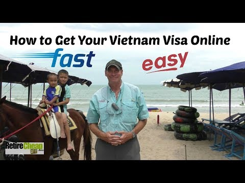 The Easiest Way To Get a Vietnam Visa 🛂