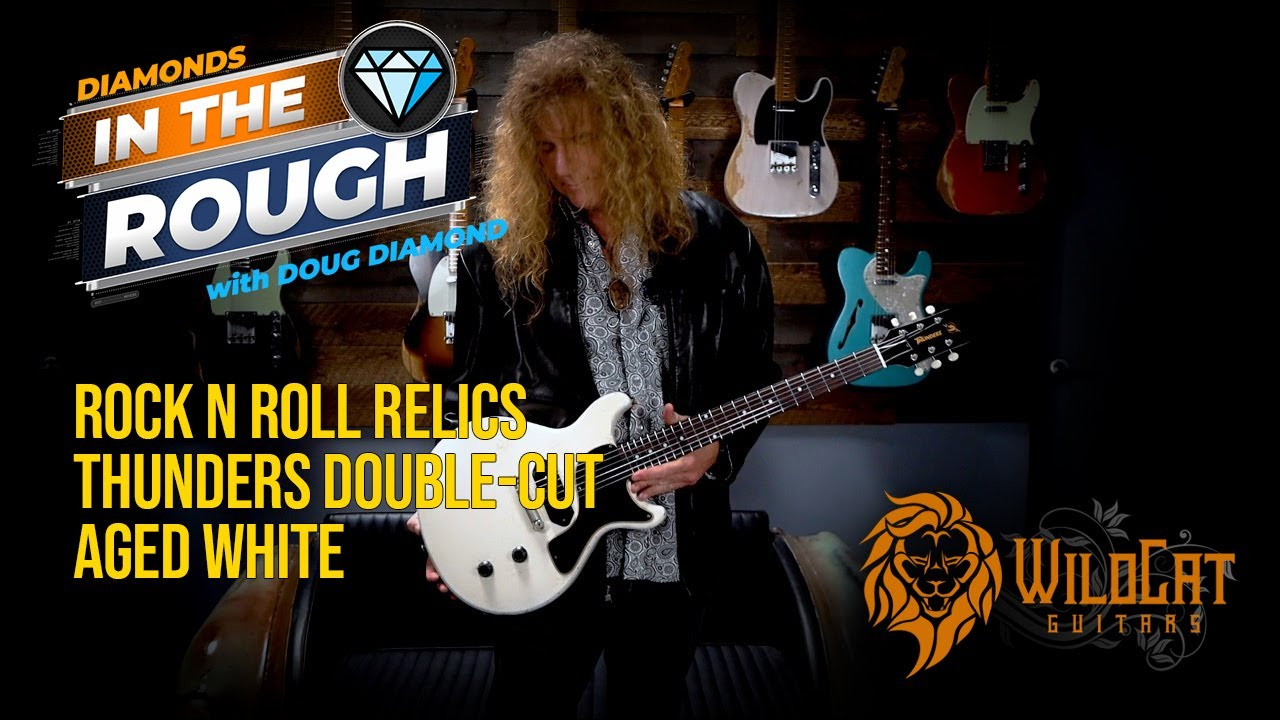 Download WildCat Guitars Diamonds In The Rough Rock N Roll Relics Thunders Double-Cut #6StringJungle
