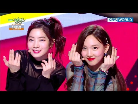 [Music Bank K-Chart] 1st Week of November - TWICE, The UNI+ (2017.11.03)
