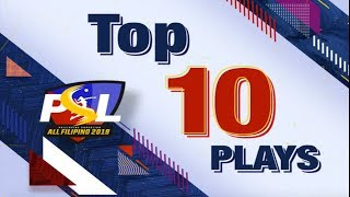 PSL All-Filipino 2019 | Top 10 Combination Plays