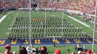 Ohio State Band Pregame Show vs. Cal 2013 Memorial Stadium Berkeley California
