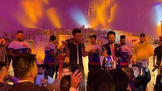 حفلات الفنان محمد حبيب مع الفنان حسام الماجد للحجز 07727650884  جزء من حفله أغصان زيتون  الجديد هجم