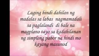 Hugot (lyrics)