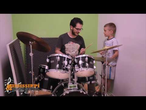 Corsi di batteria bambini Roma 2 - Mississippi Music School