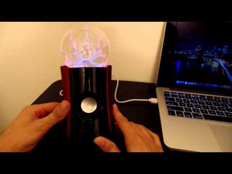 Magic Music Plasma Ball Bluetooth Speaker (1byone)