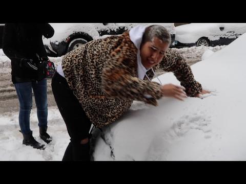 ニューヨーク大雪とかホンマ笑かす