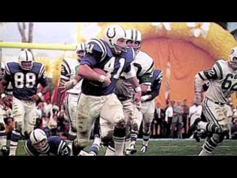 Super Bowl III - New York Jets vs  Baltimore Colts slideshow - AFL vs. NFL - Segue Commercials
