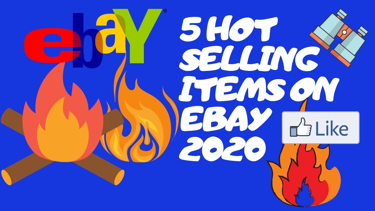 5 Hot Selling Low Key Items On Ebay 2020 What Is Selling On Ebay Quick Flips Youtube