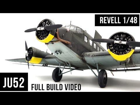 Ju52 Revell 1/48 Model Aircraft Build