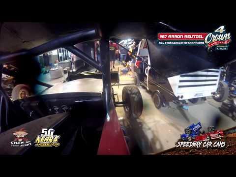 #4Crown WINNER - #87 Aaron Reutzel - All Star Circuit of Champions - Eldora Speedway 9-28-19