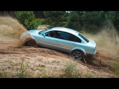 ПСИХИ на SUBARU WRX и VW PASSAT против TOYOTA PRADO 120 на БЕЗДОРОЖЬЕ!!!