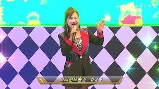 가수김윤정/그리운오솔길/한국연예예술인의밤