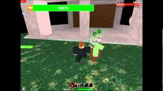 roblox Protect Telamon From Zombies (parte 2)