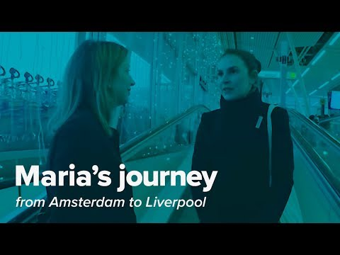 Maria's Journey from Amsterdam to Liverpool - GoPro