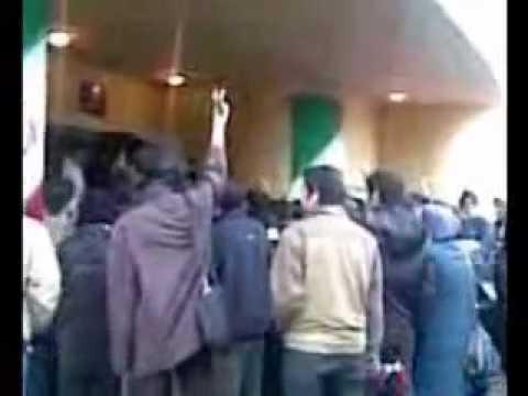 Iran 7 & 8 Dec 09 (16-17 Azar) Kerman Bahonar Uni Student Protest