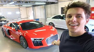 I GOT GIVEN ANOTHER AUDI R8!