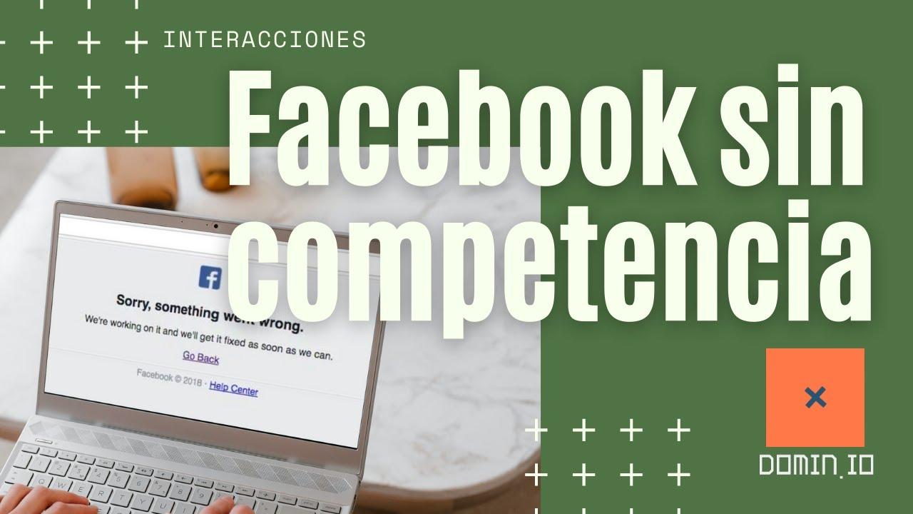 ¿Por qué la caída de Facebook ejemplifica que es un monopolio? Con R3D.