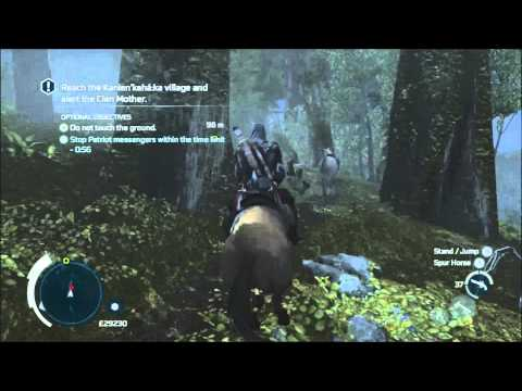Broken Trust - S10M2 - Don't touch the ground/kill messengers - Full Sync - Assassin's Creed 3