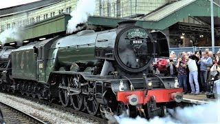 Flying Scotsman On Double Headed Cathedrals Express At Bristol Temple Meads - 08/10/18