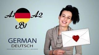 Deutsch B1 Prüfung und A2 - Briefe schreiben. Teil 1: Einladungen zur Party mit Bella