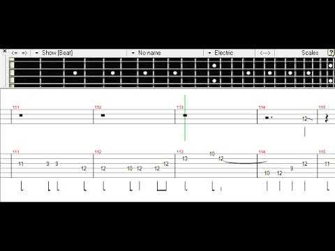 Hikari Are - BURNOUT SYNDROMES Bass TAB