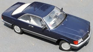 nuevo Mercedes-benz 560 SEC KK-scale kkdc 180332 1:18 c126 * 1985