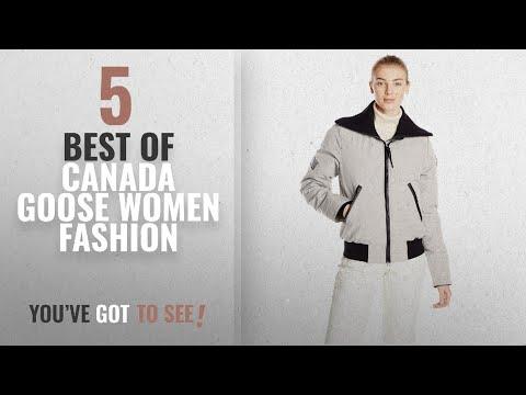 Canada Goose Women Fashion [2018 Best Sellers]: Canada Goose Women's Huron Bomber Jacket, Light