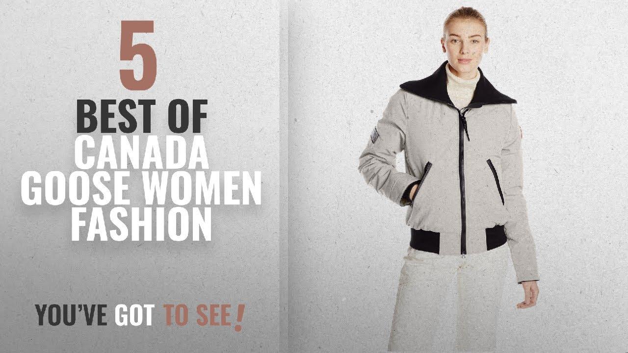 96ffddf72 Canada Goose Women Fashion [2018 Best Sellers]: Canada Goose Women's Huron  Bomber Jacket, Light