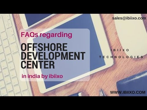 FAQs regarding offshore development center in india by ibiixo