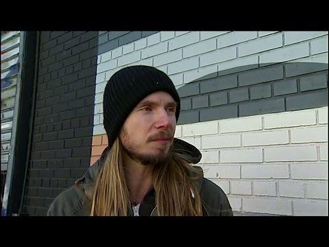 Svensk graffitimålare gör succé i New York - Nyheterna (TV4)
