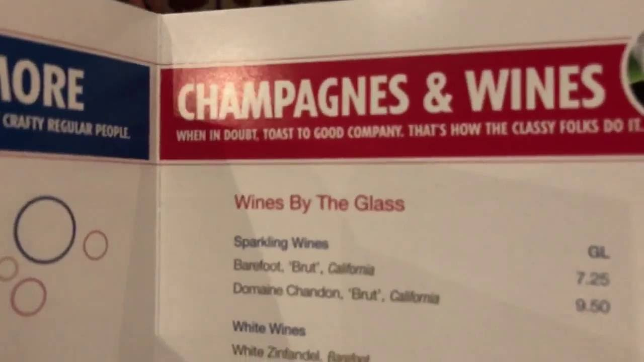 carnival cruise line drink bar menu prices on carnival pride youtube