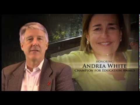 Andrea White Sbef Champion For Education Award Youtube