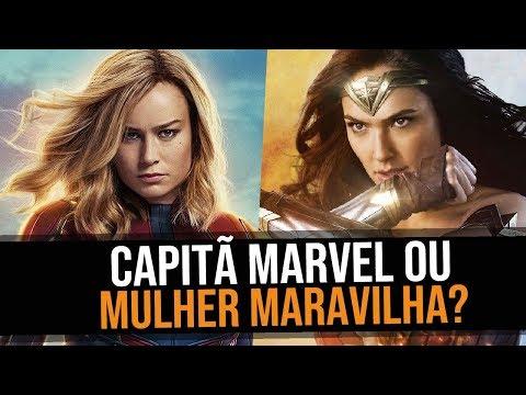 CAPITÃ MARVEL VS MULHER MARAVILHA  ParódiasTNT